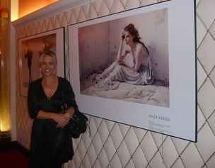 "ANJA FRERS at ""7ème Festival international de la Mode"""