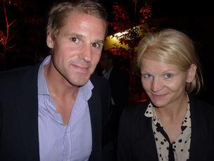 Winner Dinner 2011 : Daniela Bartelt (Scholz & Friends) and friend