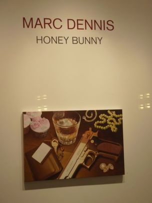 Marc Dennis' 'Honey Bunny' at the Hasted Kraeutler Gallery