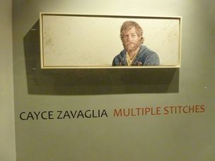 "Cayce Zavaglia - ""Multiple Stitches"", Lyons Wier Gallery"