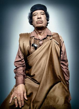 Muammar al-Gadhafi © Power Platon by Schirmer/Mosel