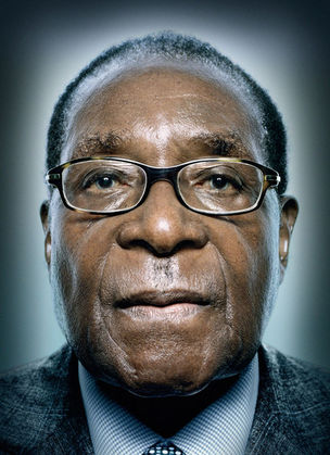 Robert Mugabe © Power Platon by Schirmer/Mosel