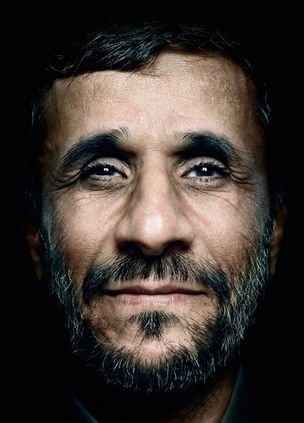 Mahmud Ahmadineschad © Power Platon by Schirmer/Mosel