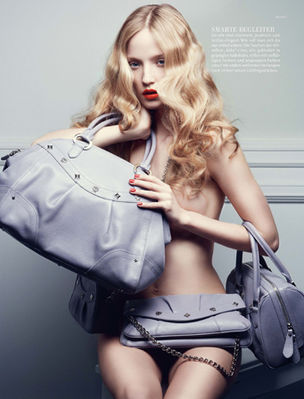ANDREA HEBERGER : Marcus PUMMER for MCM / VOGUE