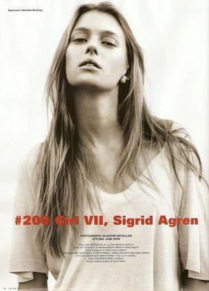 MUNICH MODELS : SIGRID Agren for ID