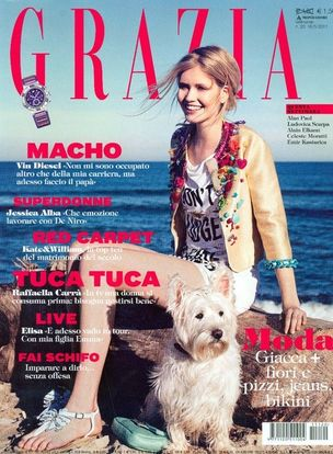 MUNICH MODELS : TERESE Pagh for GRAZIA