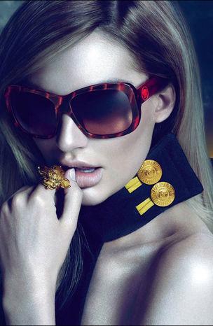 MUNICH MODELS : Candice SWANEPOEL for VERSACE EYEWEAR FW 2011/12