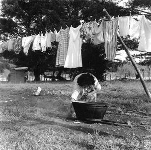 WASHDAY AT THE PA by Ans Westra ({Suite} Gallery)