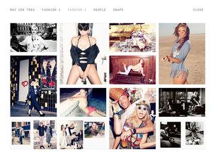 MAX VON TREU : new website