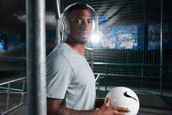 ANDREAS POLLOK: Jerome Boateng for JBL Headphones