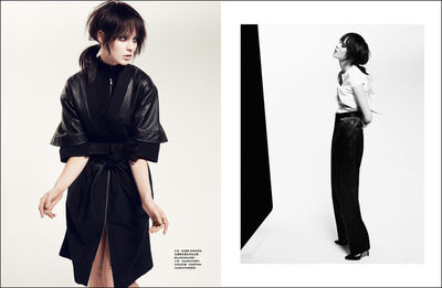 BIRGIT STOEVER : Tina LUTHER for HARPER' S BAZAAR