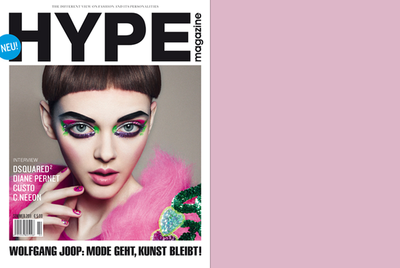ANJA FRERS for HYPE MAGAZINE