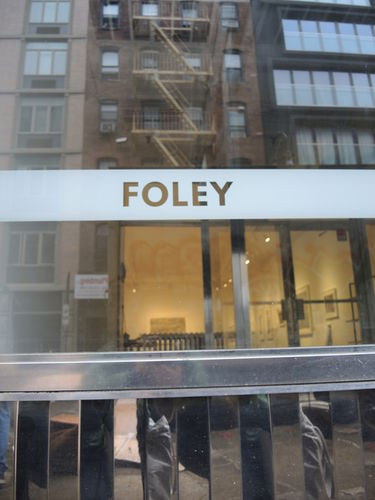 GOSEE QUEST : Michael Foley, Foley Gallery NYC