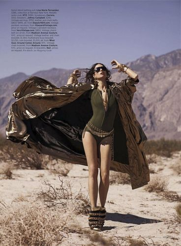 GLAMPR for ELLE USA