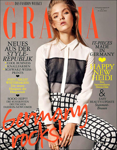 BIRGIT STöVER : Tina LUTHER for Grazia