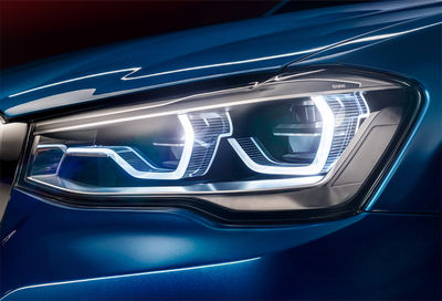 the BMW X4 Concept / Photography by Jan Friese