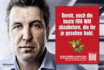 KOMBINATROTWEISS : Fabian SOMMER for BILD