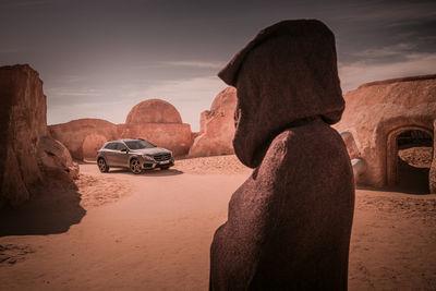 Mercedes GLA for Jan Friese. Postproduction RGBERLIN.