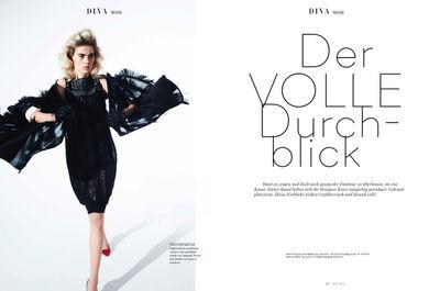 Brigitte Margareta Wilhelm for DIVA Magazin