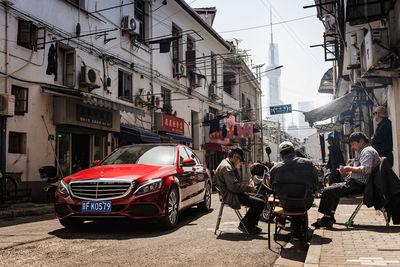 EMEIS DEUBEL: Tim Adler for Mercedes-Benz