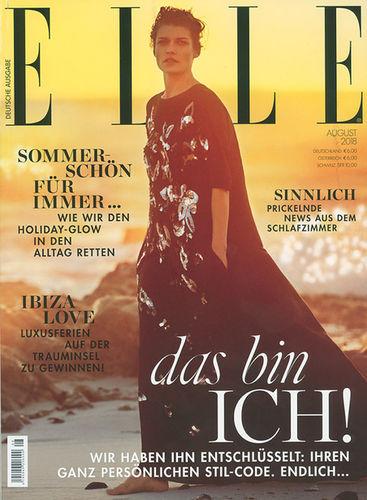 BIGOUDI Josie Martens für Elle Cover