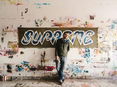 DUSTIN AKSLAND C/O GIANT ARTISTS - LEE QUIÑONES / SUPREME