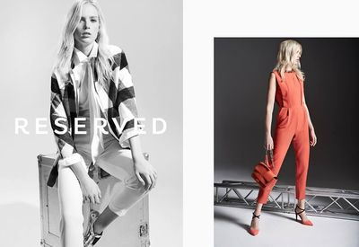 MAGDA WUNSCHE & AGA SAMSEL for Reserved Concept campaign!