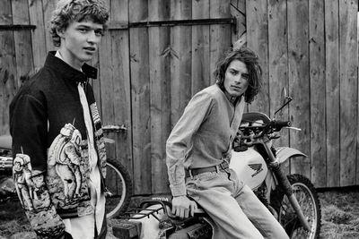 MATEUSZ STANKIEWICZ for Elle Man Magazine Jeans editorial