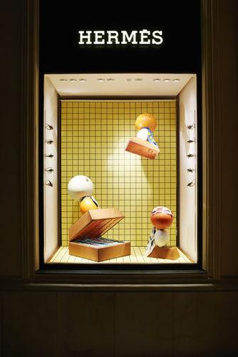 """EMEIS DEUBEL"" ""Sarah Illenberger"" ""Hermes"" ""Munich"" ""Window display"""