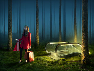 'Above All' by Erik Johansson c/o AGENT MOLLY & CO