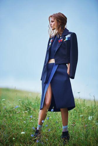 SUZANA SANTALAB for Elle Bulgaria