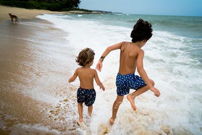 EMEIS DEUBEL: Autumn Sonnichsen Personal Kids Work in Brazil