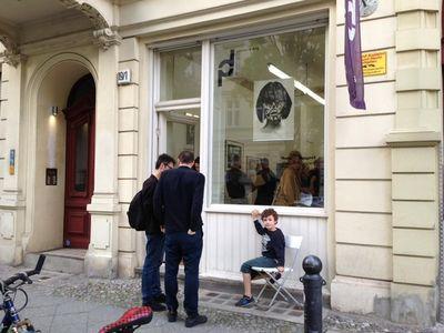 PAVLOV'S DOG :  Matthieu Bourel 'Exploring Desires' (13.7. - 5.8. 2017) - installation view / opening