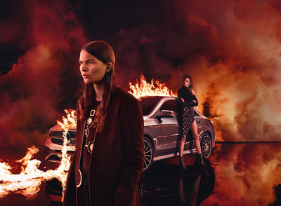 RGBERLIN: Christian Larson fotografiert die Mercedes-Benz Fashion Week Kampagne
