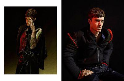 Men's fashion by Magda Wunsche & Aga Samsel c/o AFPHOTO