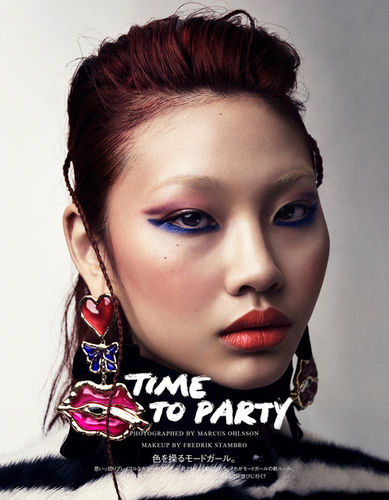 'Time to Party' Marcus OHLSSON c/o LUNDLUND for VOGUE JAPAN