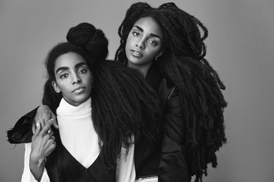 RETOUCHED-STUDIOS : Quann Twins for Interview.com