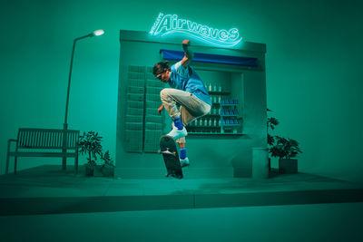 Pascal KEROUCHE c/o BIRGIT STÖVER ARTISTS : AIRWAVES lifestyle campaign for MediaCom & Mars Wrigley