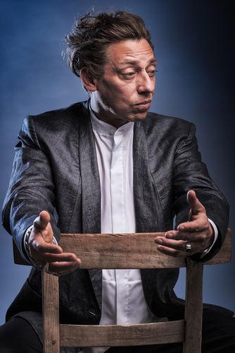 Milton Welsh wearing Brachmann, photographed by Bernd Ott