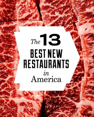 Jake Stangel c/o GIANT ARTISTS photographed the 2018 Best New Restaurants feature for GQ