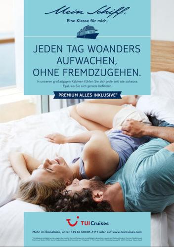TUI Cruises-Mein Schiff Kampagne