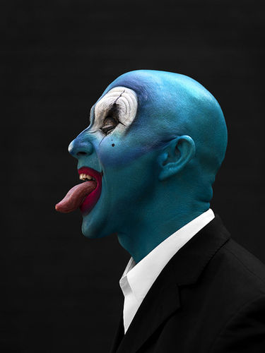 JSR AGENCY: PEROU's Coulrophobia project in collaboration with MAC Cosmetics
