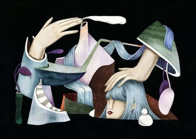 COSMOPOLA    Illustration Artist Andrea Wan - New York Times Magazine - New Works 2016