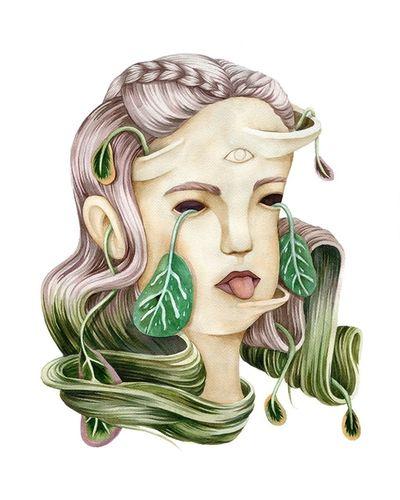 COSMOPOLA    Illustration Artist Andrea Wan - Vessels Series