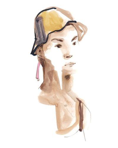 COSMOPOLA Illustration Artist - Francesco Lo Iacono - SS19 Loewe