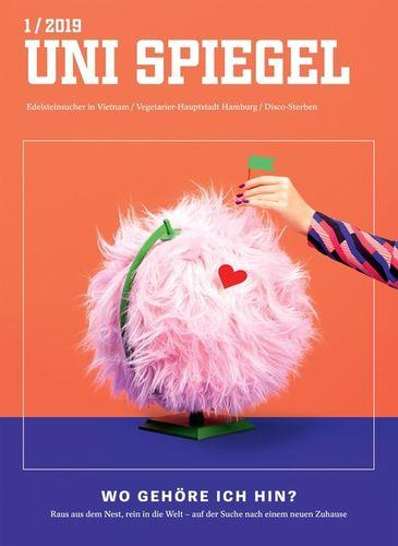 COSMOPOLA   Cover for  Uni Spiegel magazine by ILKA & FRANZ