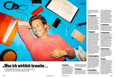 COSMOPOLA – by NORMAN KONRAD Florian David Fitz for Red Bulletin