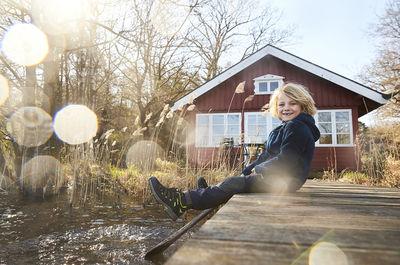 MIRIAM LINDTHALER C/O TOBIAS BOSCH FOTOMANAGEMENT FOTOGRAFIERT DEN JAKO-O HERBST/WINTER KATALOG 2019