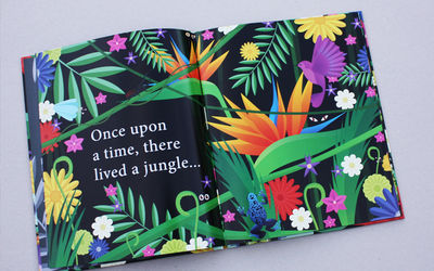 'Once Upon a Jungle' children book by James Boast c/o 2AGENTEN