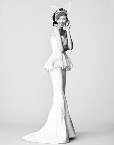 CHRISTA KLUBERT PHOTOGRAPHERS: DAVID THOMPSON FOR BRIDES MAGAZINE